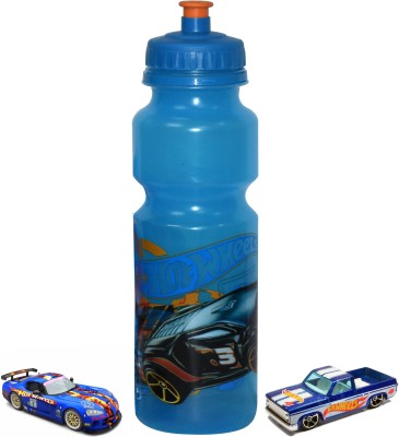 Imported 2 pc Hot Wheels car with Water bottle