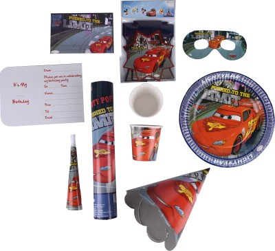 Cars Birthday Combo Kit (CR)(Set of 8)