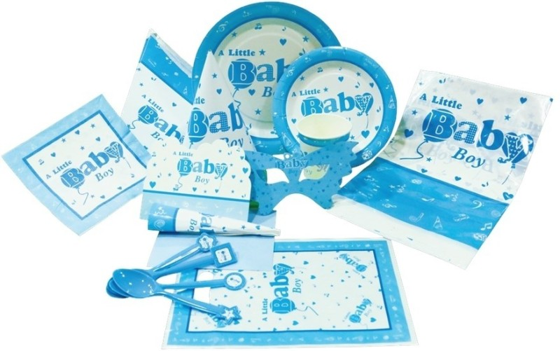 Birthdays & Parties Baby Boy Kit(Set of 103)