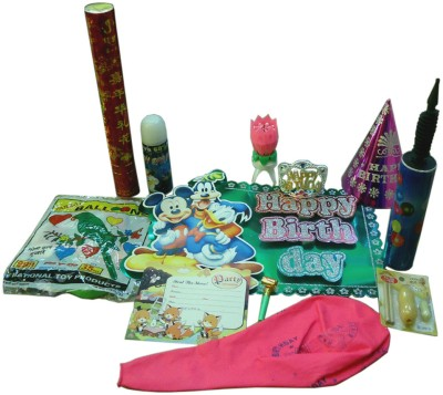 Abee All-in-one Decorative Birthday Kit