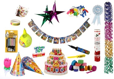 NHR Birthday Decoration Kit for Boys