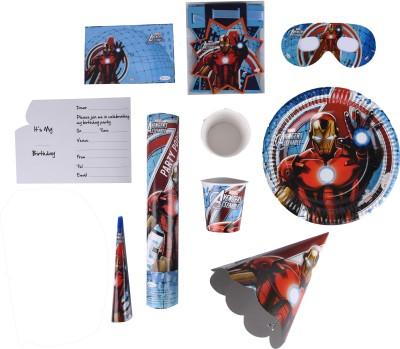 Marvel Iron Man Birthday Combo Kit(Set of 9)