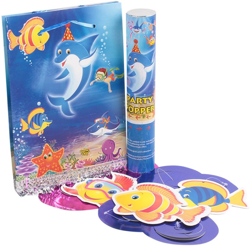 Themez Only Tableware Combo - Underwater(Set of 40)
