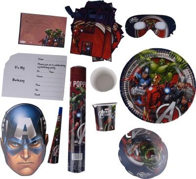 Marvel Avengers Birthday Combo Kit(Set of 9)