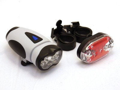 Adraxx Bicycle Safety Warning Light LED LIGHTS Bite Indicator