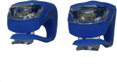 Adraxx Pair of Waterproof Silicon Biking Safe Light Bite Indicator(Blue)