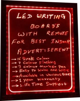 PRIME TECH LED WRITING-Red magic Black board