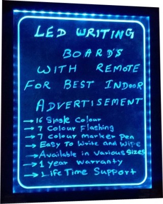 PRIME TECH LED WRITING.BLUE ATTRACT Black board