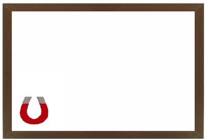 Kanico KAWB0051824 White board(24 inch x 18 inch)