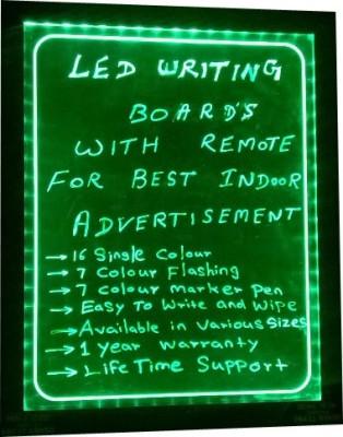 PRIME TECH LED WRITING.GREEN 05 Black board