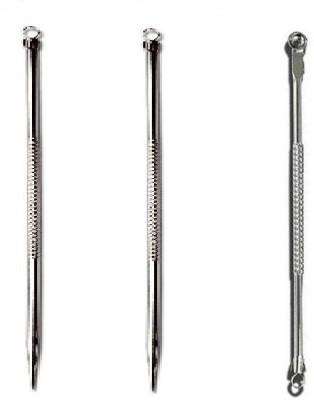 Vega Stainless Steel Blackhead Remover Needle(Pack of 3)