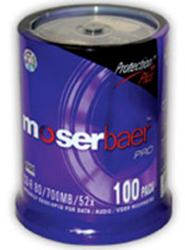 Moser Baer Pro CD-R 100 Pack Cake Box(Pack of 100)