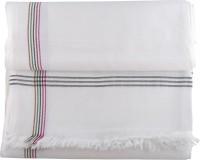 Rose Self Design Single Quilts & Comforters White(AC Blanket, Blanket)