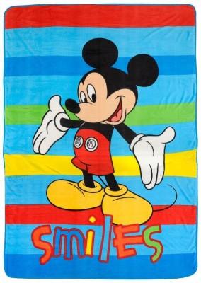 Disney Cartoon Single Blanket Multicolor