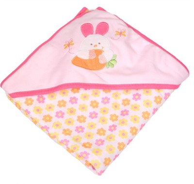 Baby Bucket Cartoon Single Blanket Pink