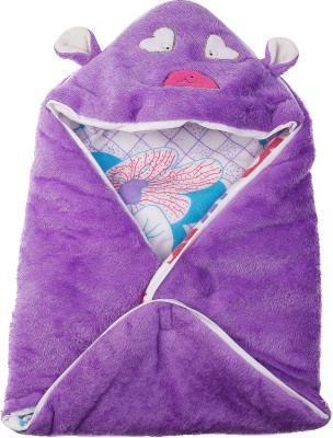 Utc Garments Cartoon Single Blanket Purple, Blue, Red, White