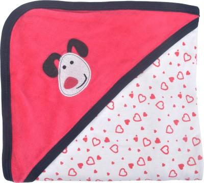 Kandy Floss Printed Single Blanket Red