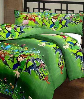 Banarsi Das Cartoon Single Dohar Green(AC Dohar)