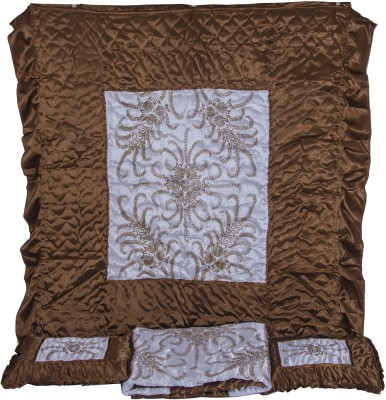 VC creation Printed Double Quilts & Comforters COPPER