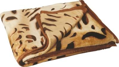 Dexim Animal Double Top Sheet Brown