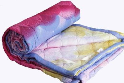Dexim Floral Double Quilts & Comforters Light Blue