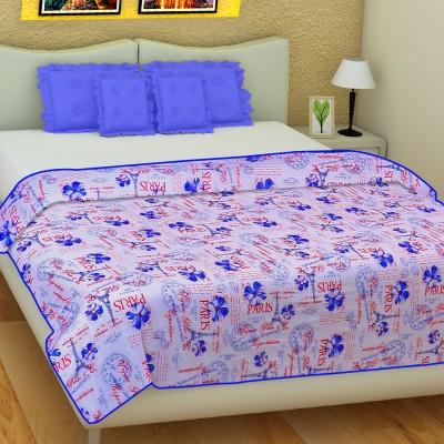 SLEEP N DREAM Text Print Single Dohar Blue
