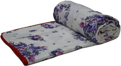 Snuggle Floral Single Dohar Multicolor