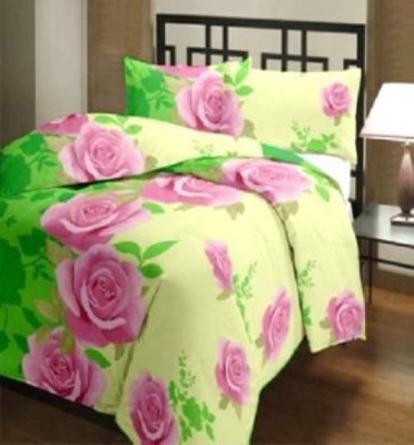 FINCH FEATHER Floral Double Dohar Multicolor