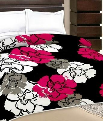 J K Bed Color Printed Single Dohar Multicolor
