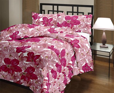 Nakoda Floral Single Dohar Pink