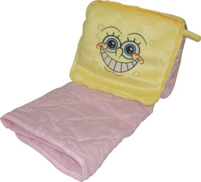 Gran Plain Single Quilts & Comforters Pink