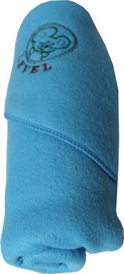 My NewBorn Cartoon Crib Hooded Baby Blanket Sky Blue