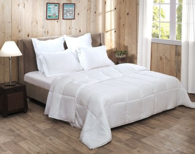 Raymond Home Abstract Double Quilts & Comforters White