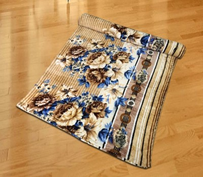 Vibhavari Floral Double Blanket Multi-Color