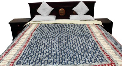 Indigocart Floral Double Quilts & Comforters Multicolor