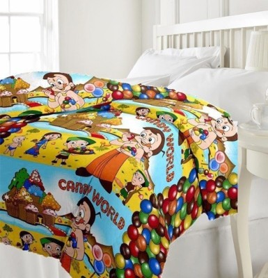 GLOW Cartoon Single Quilts & Comforters Multicolour