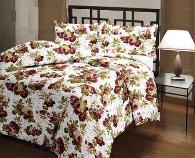 Fresh From Loom Floral Double Top Sheet Multicolor