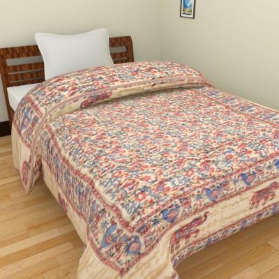 Anvi Impex Printed Single Quilts & Comforters Multicolor