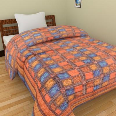 Shra Geometric Single Quilts & Comforters Multicolor