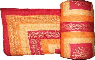 GRJ India Floral Single Quilts & Comforters Multi colour