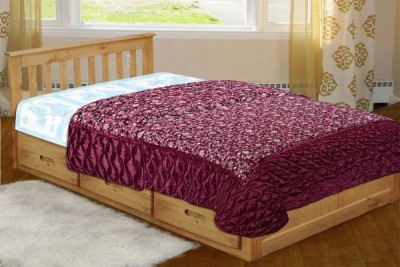 Chelsi Printed Single Quilts & Comforters Red