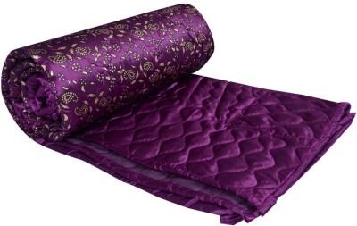 Home Shop Gift Paisley Double Quilts & Comforters Purple