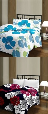 The Home Story Floral Single Dohar Multicolor