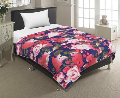 Factorywala Floral Single Dohar Multicolor