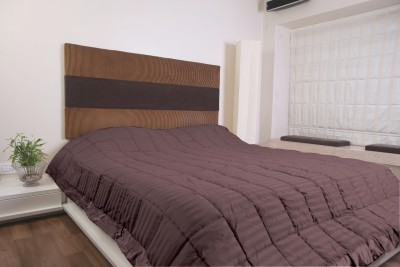 KIAANA USA Striped Single Quilts & Comforters Brown