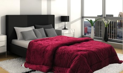 Wrap Paisley Single Quilts & Comforters Maroon