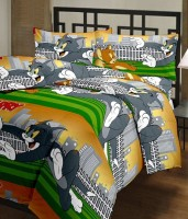 Florish Cartoon Single Dohar Multicolor(Blanket)