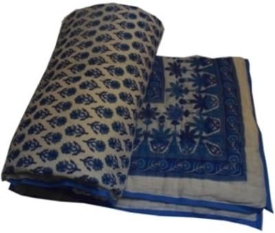 Sparkle Floral Single Quilts & Comforters White
