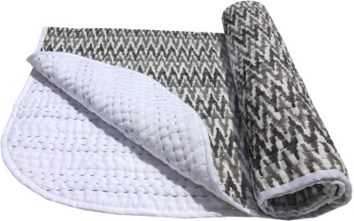 Kairan Jaipur Geometric Crib Quilts & Comforters Black, White