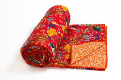 CottonHandiCluse Embroidered Double Blanket Multicolor
